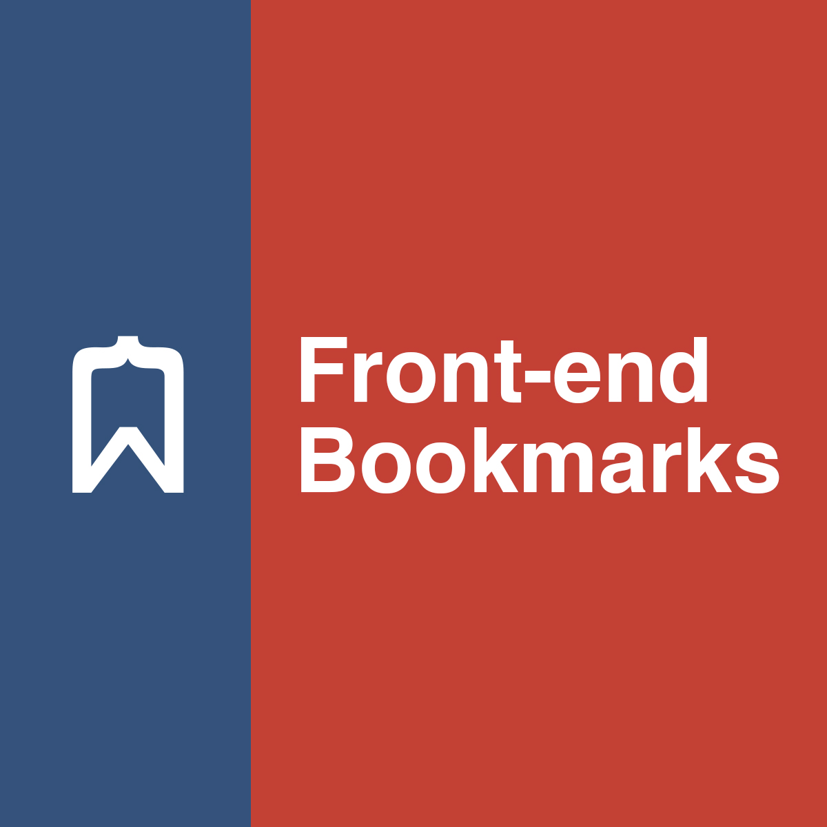 Front-end Bookmarks